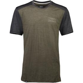 Mons Royale Huxley Hike T T-Shirt Men olive/smoke